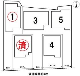 グラファーレ名古屋市中川区江松5丁目 全5棟 1号棟 新築一戸建て