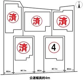 グラファーレ名古屋市中川区江松5丁目 全5棟 4号棟 新築一戸建て