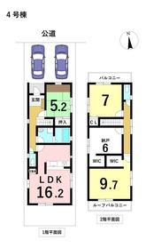 名古屋市港区秋葉20-1期 全6棟 4号棟 新築一戸建て