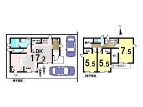 ●セキュレア中川区万町 全4棟 2号棟 新築一戸建て