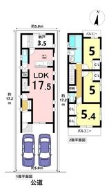 名古屋市南区三吉町5丁目 全1棟 新築一戸建て