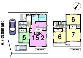 名古屋市中川区高杉町2期 全1棟 新築一戸建て