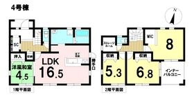 LiveleGarden.S稲沢市平和町勝幡新田 全4棟 4号棟 新築一戸建て