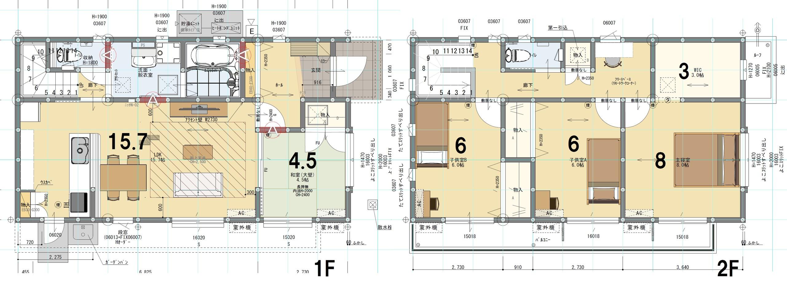 C棟 4LDK+S 土地面積246.81㎡ 建物面積108.47㎡