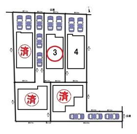 Livele Garden.s名古屋市中川区新家3丁目 全5棟 3号棟 新築一戸建て