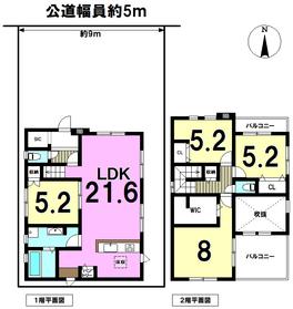 ○ケイアイスタイル名古屋市中川区新家3丁目 全1棟 新築一戸建て