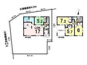 クレイドルガーデン津島市鹿伏兎町第2 全5棟 1号棟 新築一戸建て