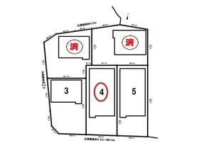 クレイドルガーデン津島市鹿伏兎町第2 全5棟 4号棟 新築一戸建て