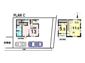 あま市新居屋榎坪 全4棟 C棟 新築一戸建て