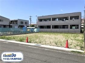 名古屋市中川区服部4丁目 全2区画 西区画 建築条件なし土地