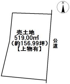 ●愛西市小津町古堤 建築条件なし土地
