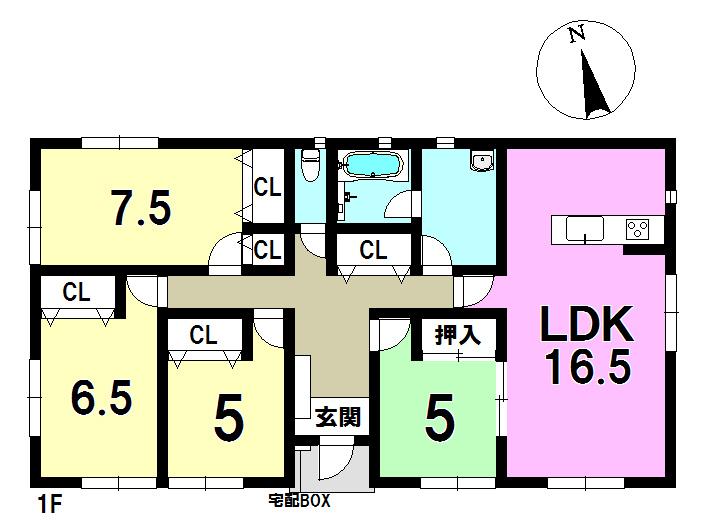 4号棟 4LDK 土地面積293.03㎡ 建物面積95.58㎡