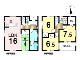 大治町西條狐海道第15 全4棟 3号棟 新築一戸建て