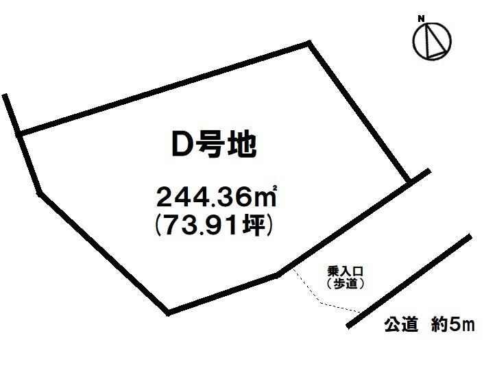 【D号地/約73坪】第1種低層地域!国道329号線沿い!イオン南風原車で約8分(約2.5㎞)!