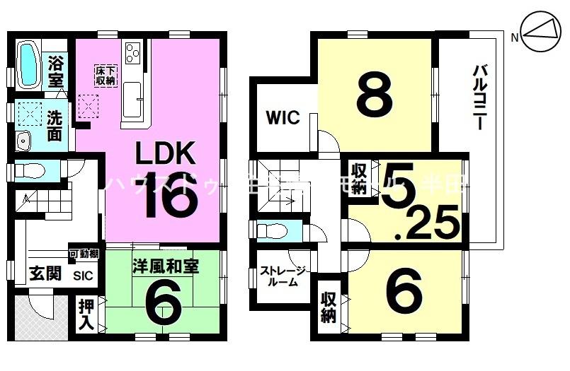 豊富な収納が活躍する全居室南向きの明るい住まい♪ 4LDK+S新築戸建 詳細はお気軽に!
