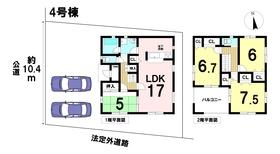 クレイドルガーデン稲沢市祖父江町三丸渕第1 全4棟 4号棟 新築一戸建て
