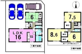 ○リナージュ愛西市稲葉町21-1期 全1棟 新築一戸建て