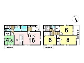 ○リナージュ津島市米町21-1期 全2棟 1号棟 新築一戸建て