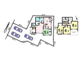 津島市愛宕町2期 3号棟 全7棟 新築一戸建て