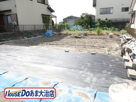 ●あま市篠田稲荷 建築条件なし土地