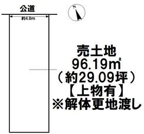 ●名古屋市中川区下之一色町字波花 建築条件なし土地