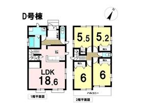 ハートフルタウン名古屋市港区善進町2期全5棟 D号棟 新築一戸建て